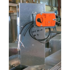 Fire Smoke Damper with Actuator